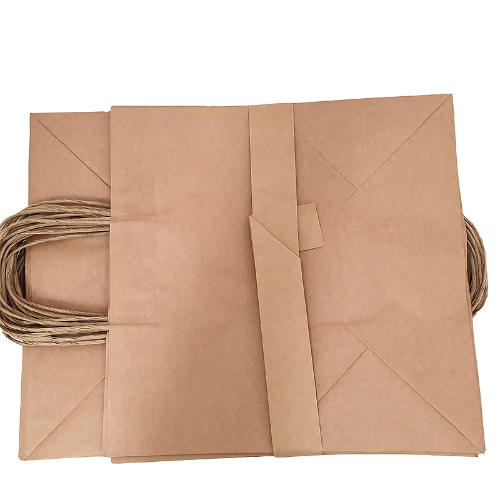 Buy 250 PK - B2 Brown Kraft Paper Bags 340x90x480mm