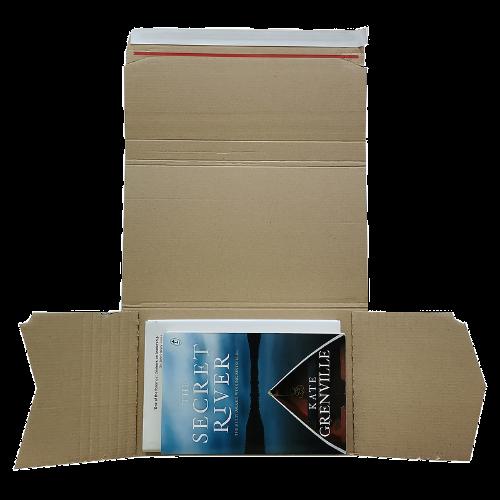100PK – High Quality C2- 251x165x60mm Self Sealing A5 Book Wrap Mailer
