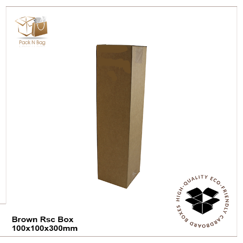 Buy Excellent - Brown RSC Tower Boxes 100-100x100x300mm - In Melbourne