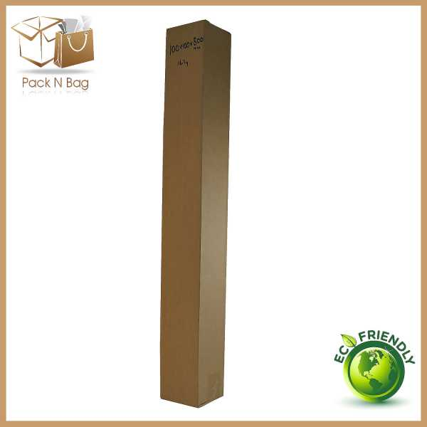 50 - 100x100x800mm High Quality Brown RSC Moving Shipping Mailing Boxes In Melbourne