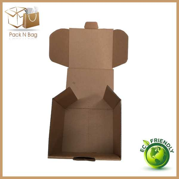 100 -125x110x110mm High Quality Eco Friendly  Professionl Brown Diecut Mailing Boxes In Melbourne