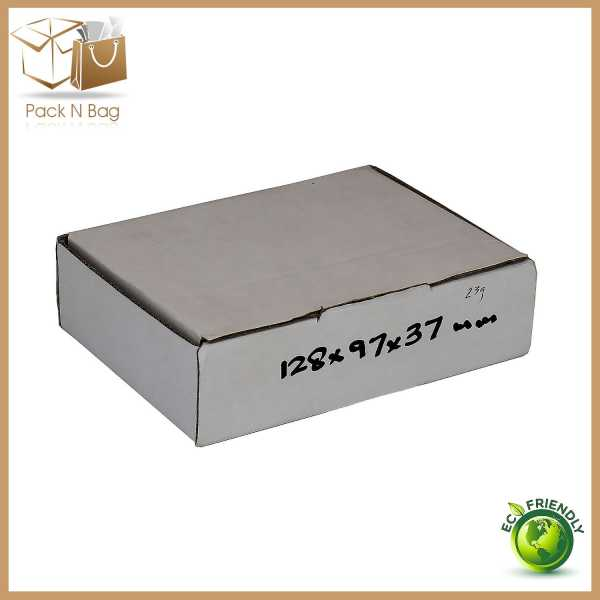 100 - 128x97x37mm High Quality Packaging Supplies  Cardboard Mailing Shipping Eco Friendly Boxes In Melbourne