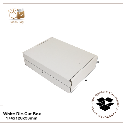 Buy Excellent - White Die-Cut Boxes 100PK-174x128x53mm - In Melbourne