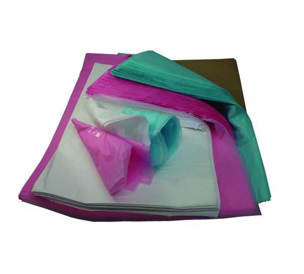 Ream of Black tissue paper