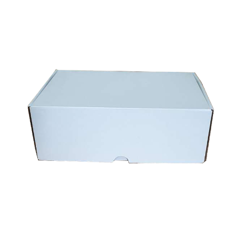 100 - 270x200x95mm ECO Friendly White Cardboard Mailing Diecut Boxes In Australia