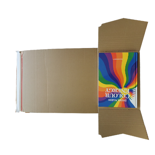 100PK – High Quality - 270x190x80mm Self Sealing  Book Wrap Mailer