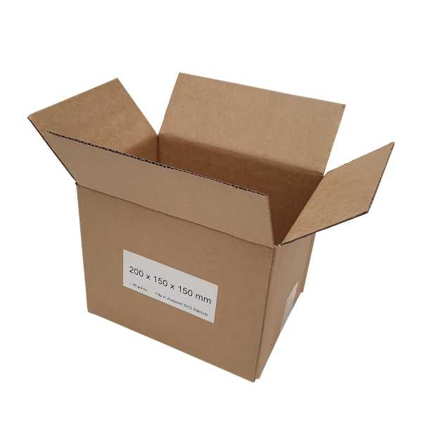 100 x 200x150x150mm High Quality Brown RSC Cardboard Shipping Mailing Boxes In Melbourne