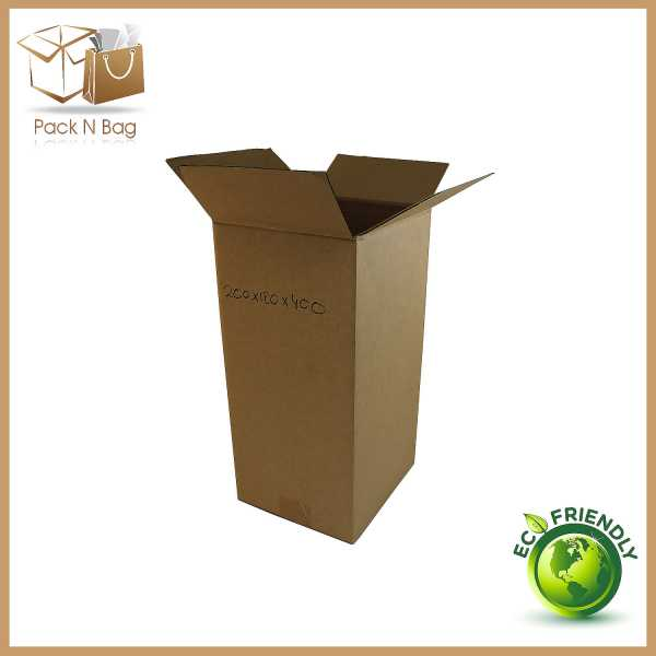 Packnbag 50 200x180x400mm High Quality Tower Shipping Mailing  BX3 Parcel Packaging Boxes Packqueen In Melbourne Australia