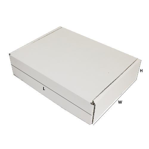 Buy Excellent - White Die-Cut Boxes 100PK-270x200x55mm - In Melbourne
