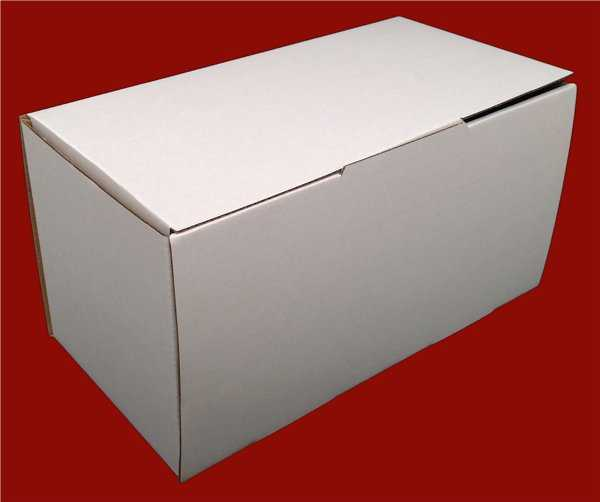 100 - 240x125x125mm High Quality White Diecut  Mailing Shipping Boxes in Melbourne