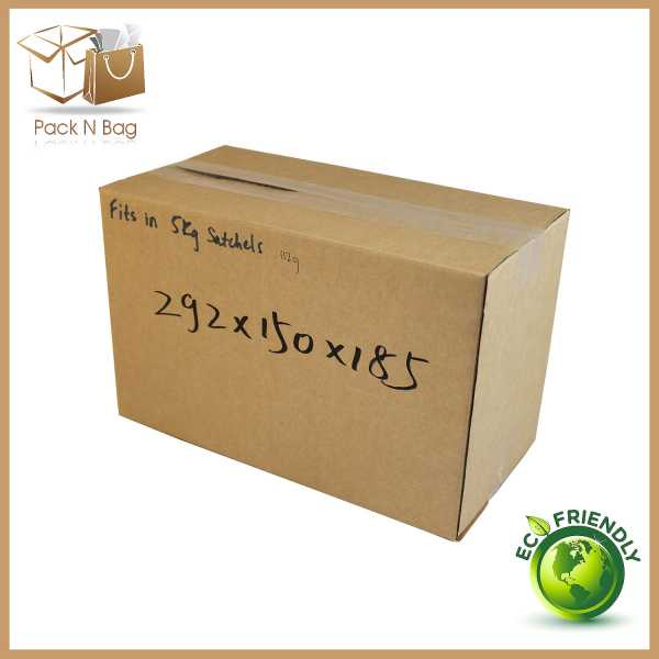 50 - 292x150x185mm Best Quality Cardboard Brown Shipping RSC Boxes In Melbourne Australia