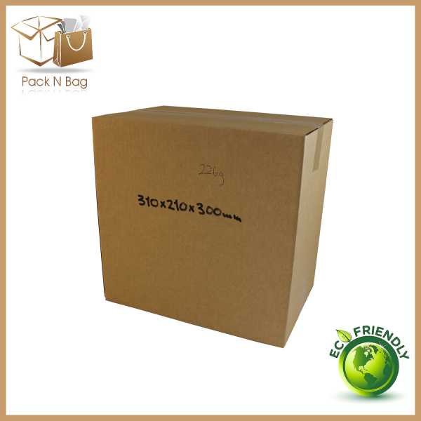 50 - 310x210x300mm Packaging And Supplies Brown Cardboard Moving RSC Boxes In Australia