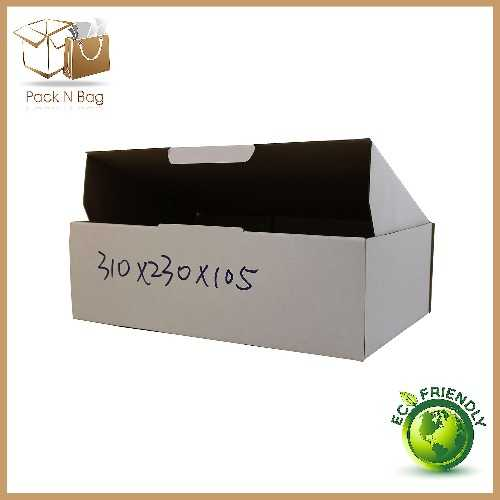Buy Excellent - ECO White Die-Cut Boxes 100-310x230x105mm - In Melbourne