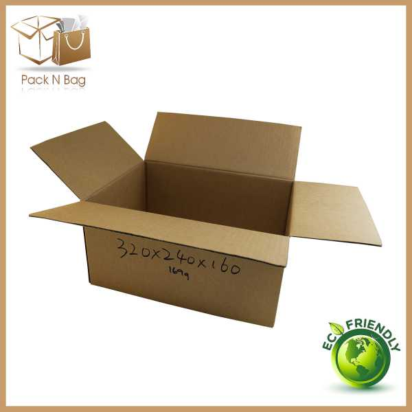 50 - 320x240x160mm High Quality Eco friendly Brown RSC Shipping Moving Boxes In Melbourne