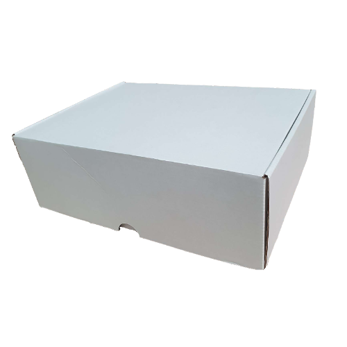 Buy Excellent - White Die-Cut Boxes 100-310x230x105mm - In Melbourne