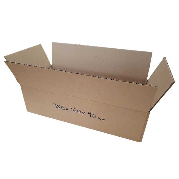 50 - 350x160x90mm High Quality Eco Friendly Brown RSC Cardboard Shipping Moving Boxes In Melbourne