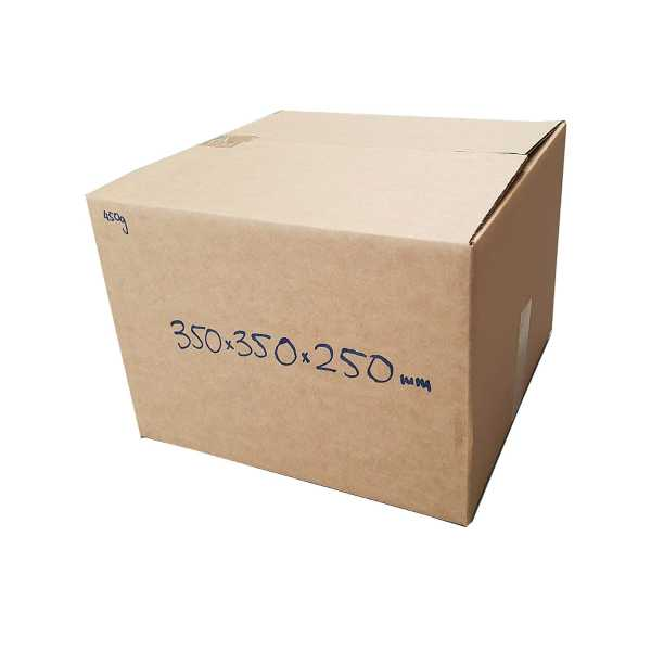 25 - 350x350x250mm Eco Friendly Brown Rsc Shipping Moving Boxes In Melbourne