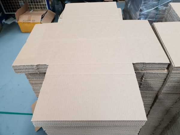 25 - 350x350x50mm Brown High Quality RSC Cardboard Shipping Moving Boxes In Melbourne