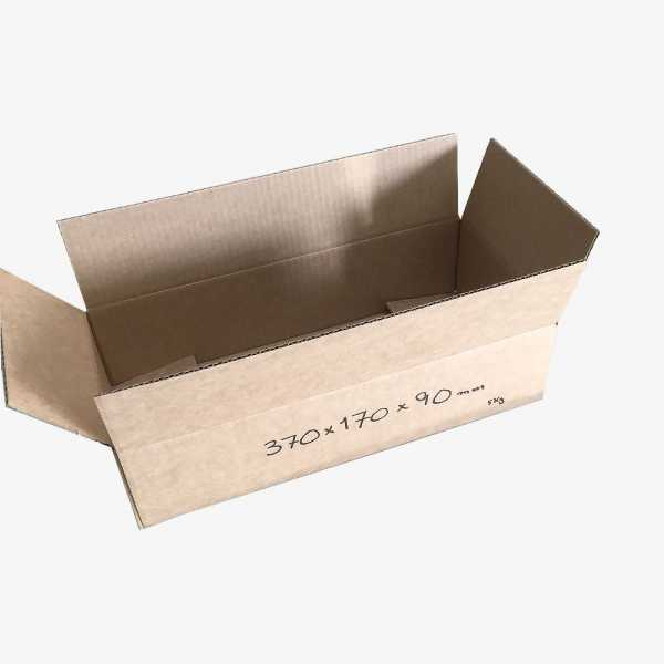 Cardboard boxes 370x170x90mm