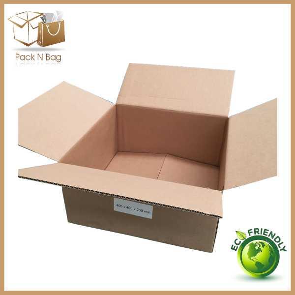400x400x200mm -Brown RSC Boxes