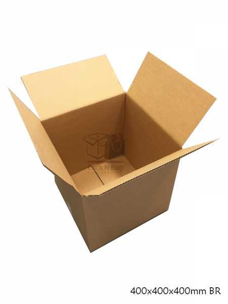 400x400x400mm Brown RSC boxes