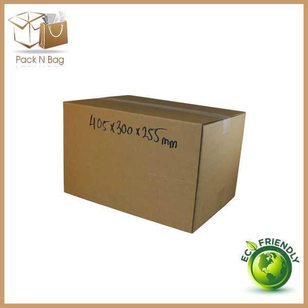 405x300x255mm-Brown/Tough RSC Boxes