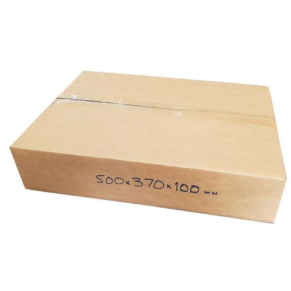 25 - 500x370x100mm Brown High Quality Cardboard Mailing Shipping Moving Boxes In Melbourne