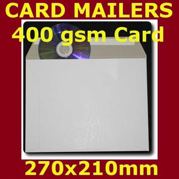 100 400gsm Card Mailer 270x210mm