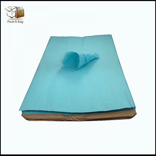 Ream of LT Blue Tissue paper