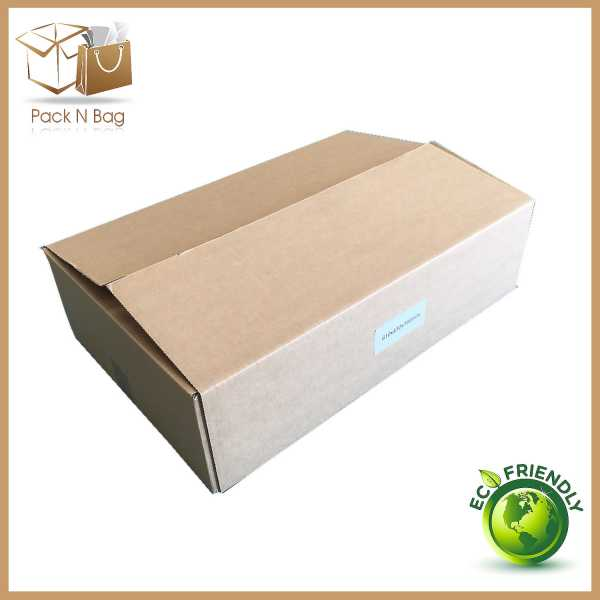 10 - 610x410x130mm High Quality Brown RSC Shipping Moving  Boxes Melbourne