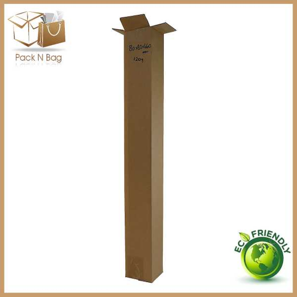 50 - 80x80x660mm Professional Packaging Supplies Brown Cardboard Mailing Boxes In Melbourne