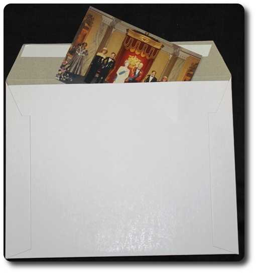 300gsm 350x250mm Rigid Mailer (200 Units)