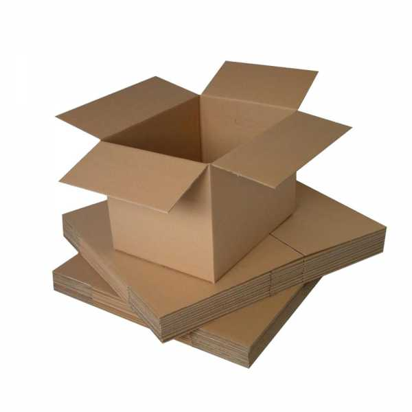50 - 370x250x90mm High Quality Brown RSC Cardboard Shipping Boxes in Melbourne