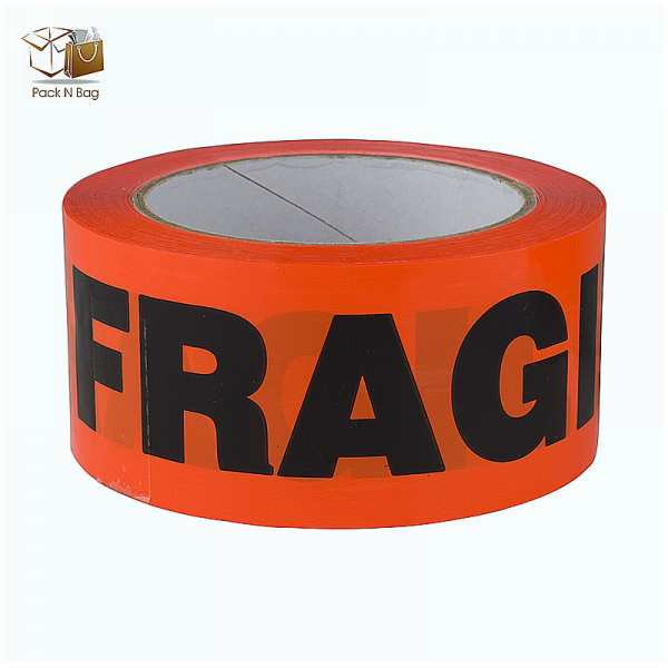Red Fragile Adhesive Tapes