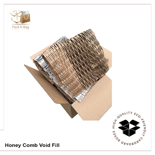 5Kg - Eco Friendly Cardboard Honey Comb Void Fill Recyclable Bubble wrap replacement