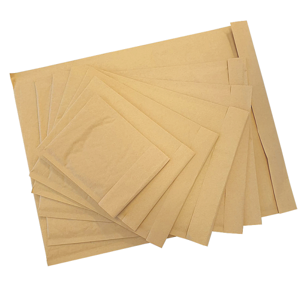 #1B 200 x High quality Brown Kraft Padded Envelopes  in Melbourne.