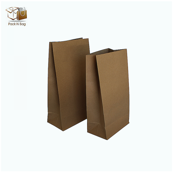 Flat Bottom Large Paper Bag