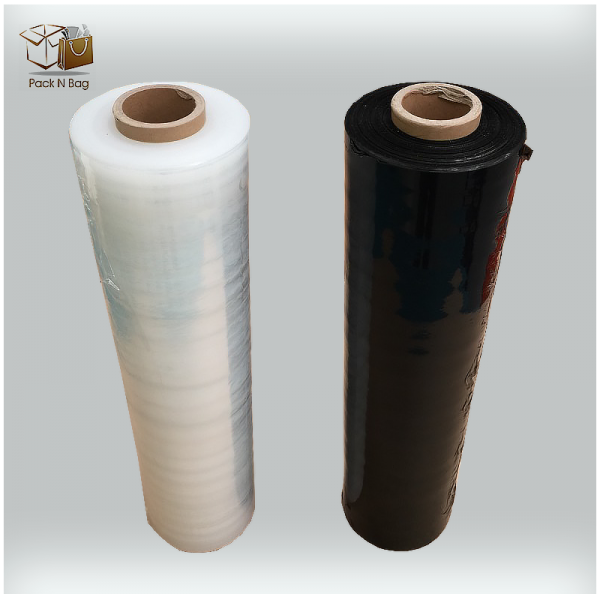 Clear Pallet Wrap Stretched Film Roll 500mm x 400M x 23um