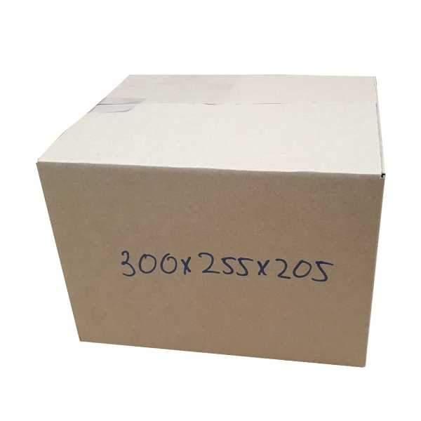 50 x 300x255x205mm HighQuality Brown RSC Cardboard Shipping  Boxes in Melbourne