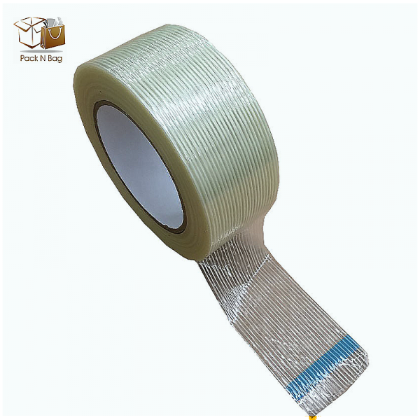 6 x 48mm x 45 Micron High Quality  Filament  Adhesive Tape In Melbourne